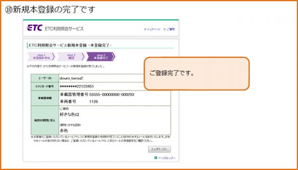 新規登録の手順10